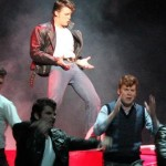 Mitchell Cox, Mat Lee and Brad Fuller_Grease, Metropolitan Players Inc. 2011